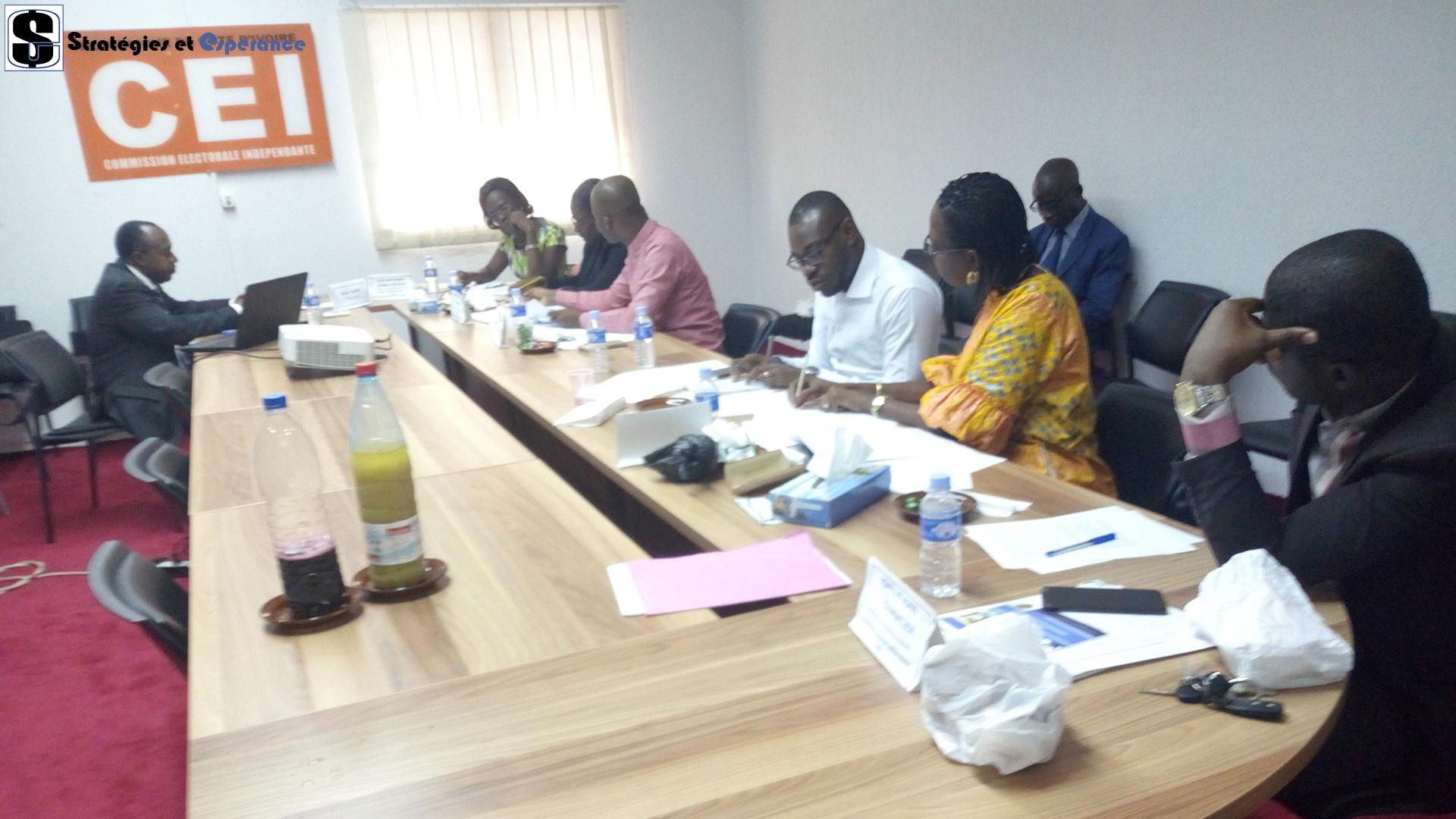 Juillet 2019: Formation sur la Gestion Prévisionnelle des Emplois et Compétences (GPEC), CEI