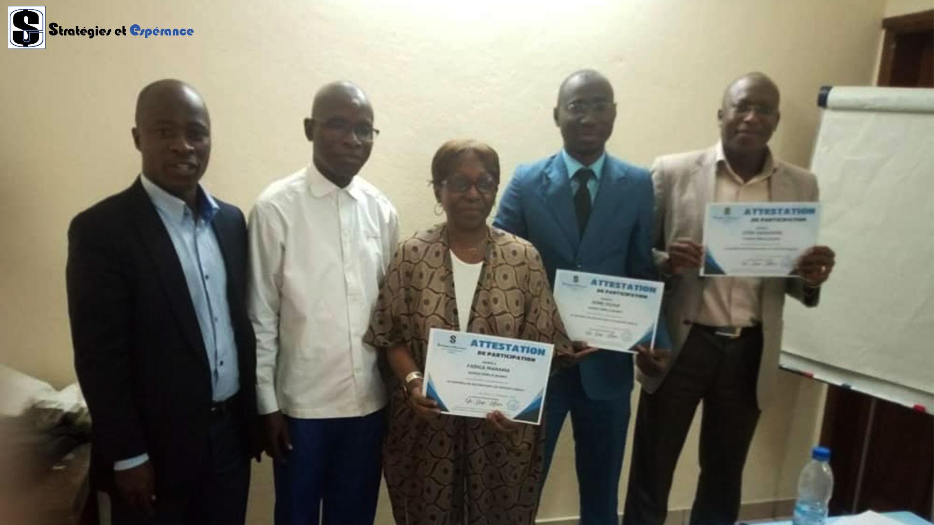 Décembre 2019: Le Contrôle de Gestion dans les services Publics, Personnel de l'Agence Emploi Jeunes