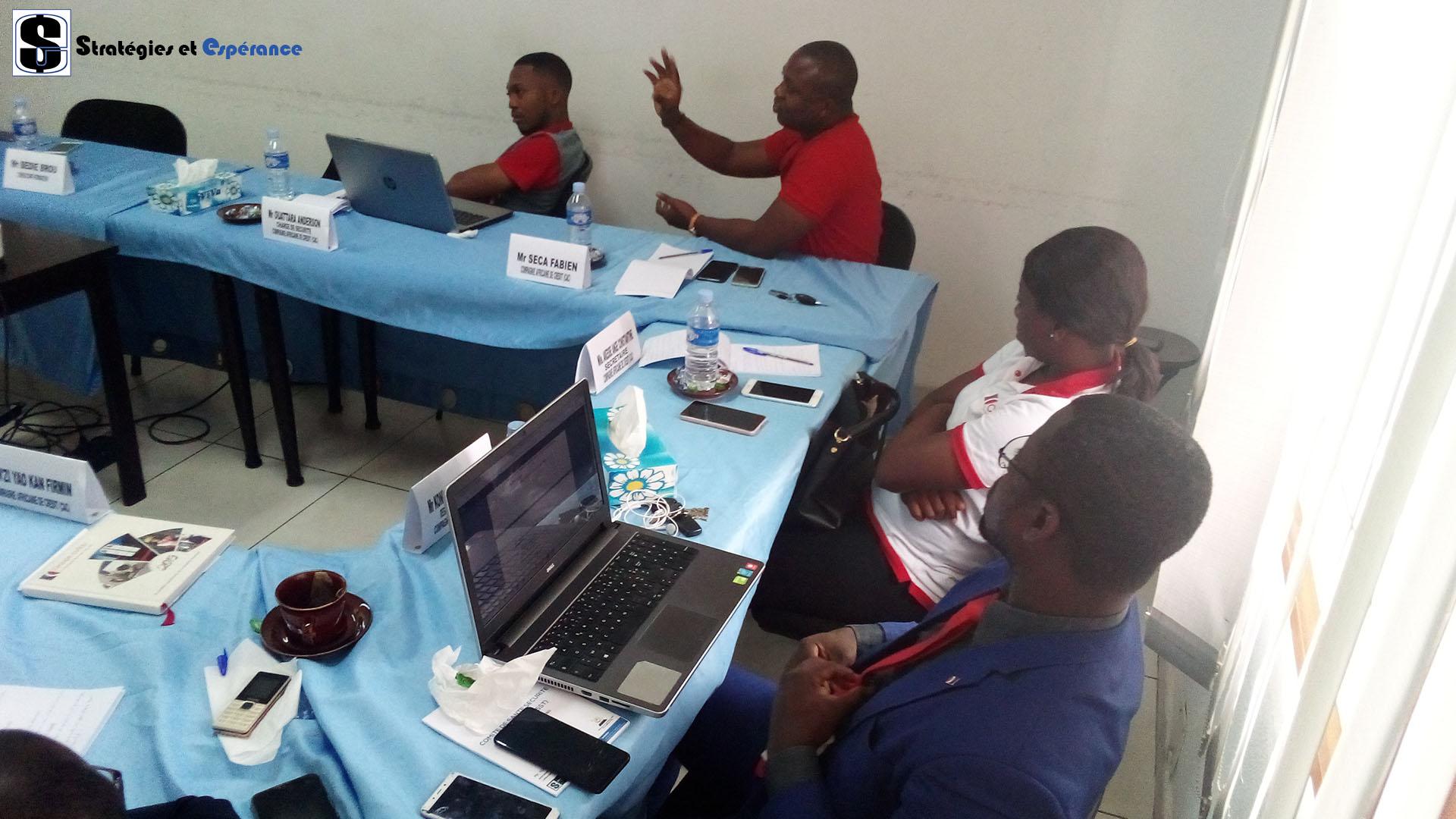 Janvier 2020: Missions et fonctionnement d'un Comité de Santé et Sécurité au Travail avec la Compagnie Africaine de Crédit (CAC)