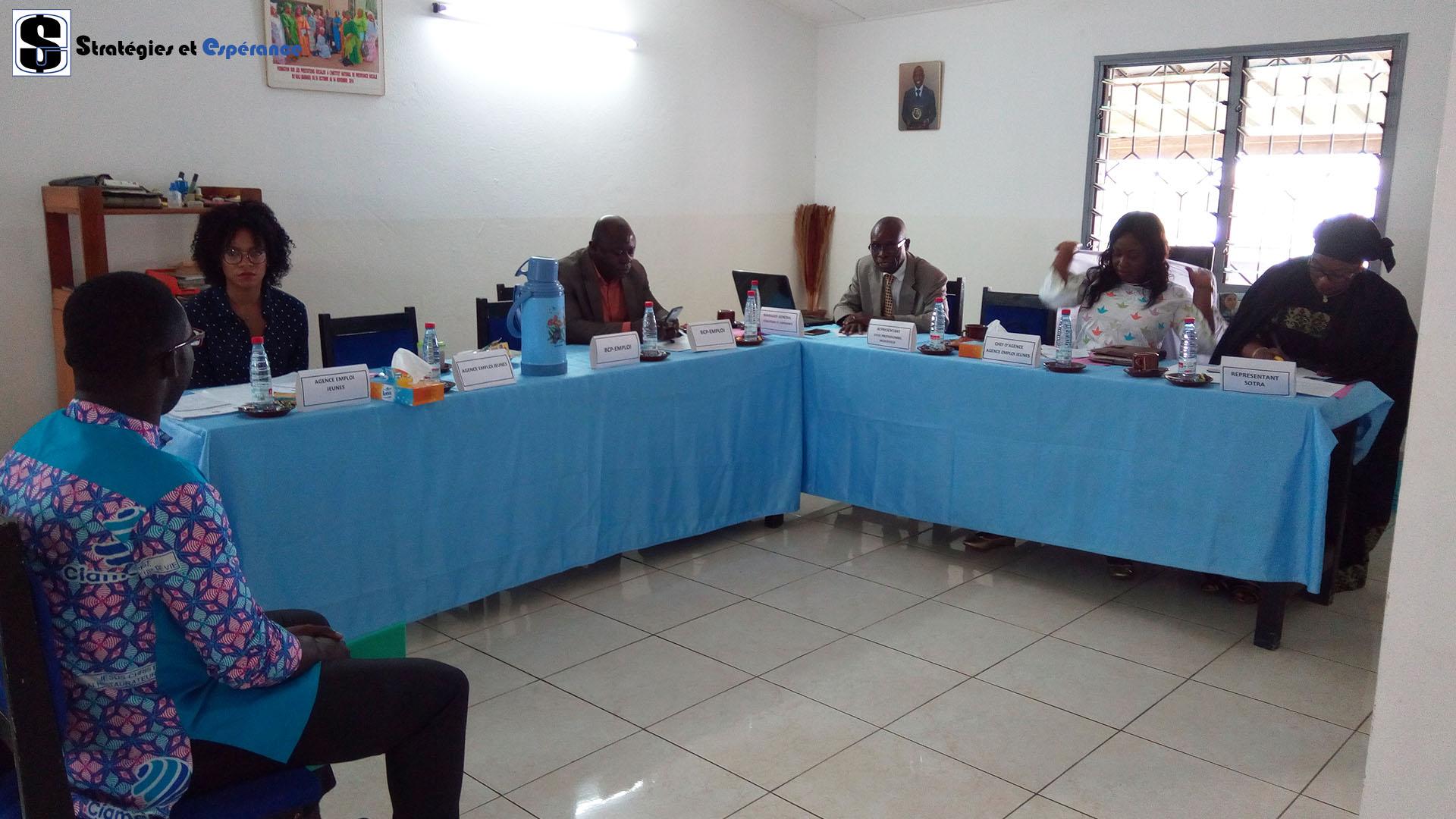 Septembre 2019: Sélection des auditeurs pour le projet de Formation Reconversion Requalification avec l'Agence Emplois Jeunes.