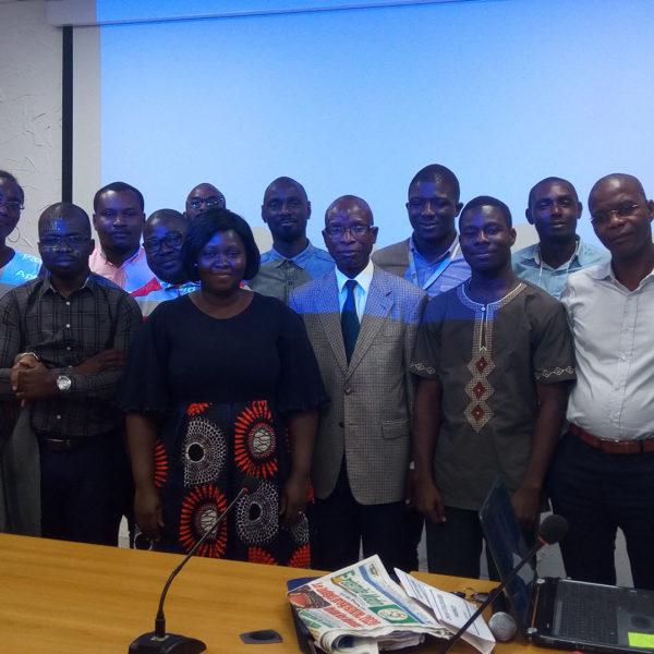 Novembre 2019: Formation du personnel du PRICI sur LES ENJEUX DE LA PROTECTION SOCIALE